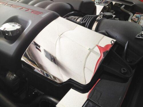 Corvette C6 2008-2013 Stainlss Steel RESONATOR AIR BOX COVER engine chrome