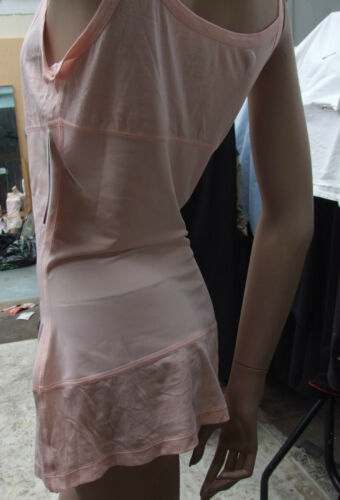 Details about  /BNWT Yummie Tummie Marvellous Shaping Pale Pink Tank Top sz 2X Long Dual Fabric