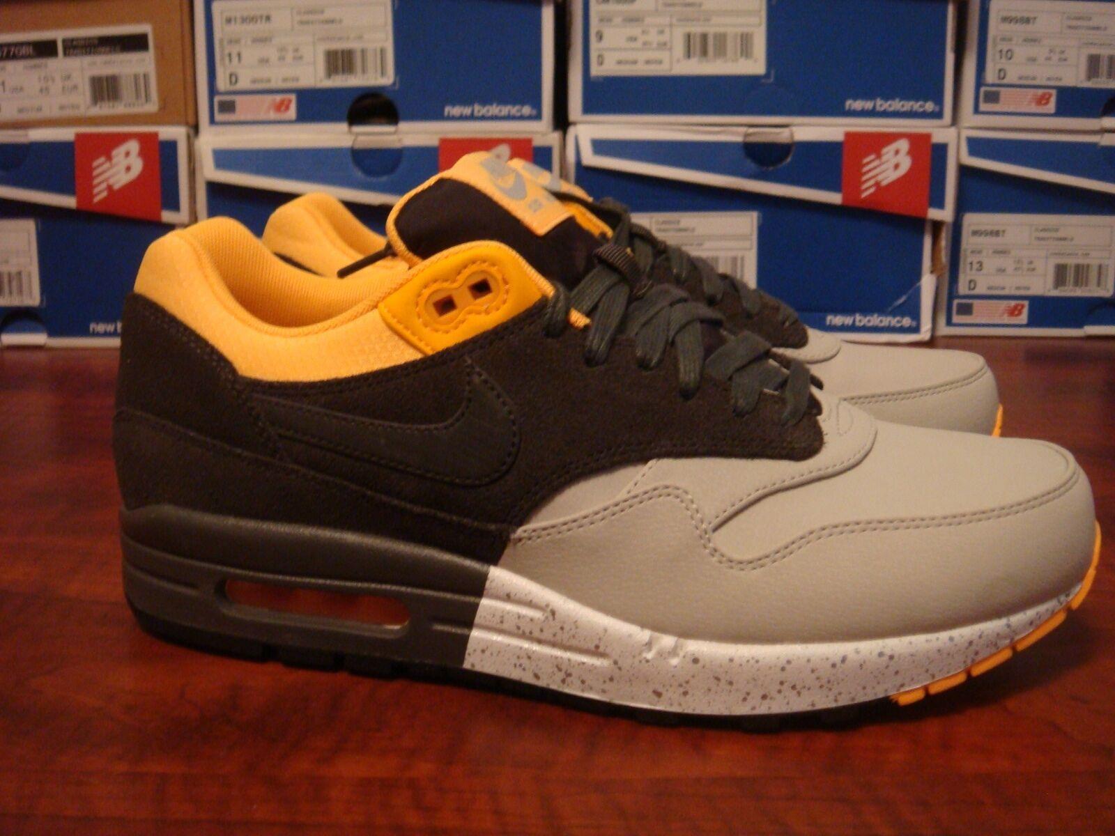 Nike Air Max PRM Yellow Grey size 8.5