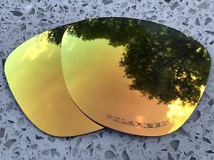 Grabado-De-Fuego-Polarizado-Lentes-naranjas-espejados-reemplazo-Oakley-Frogskins