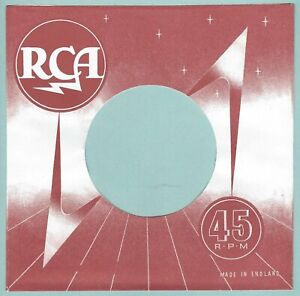 RCA (red & white fogging) REPRODUCTION RECORD COMPANY SLEEVES - (pack of 10)