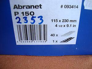 40-Mafell-Schleifgitter-Abranet-Korn-150-115-x-230-Schleifpapier-2353