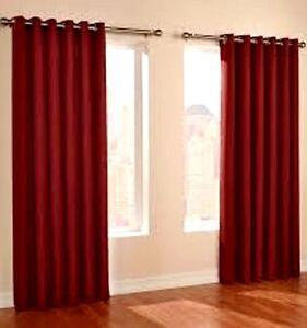 Thermal window treatment curtain drape grommet blackout 63 for 108 window treatments