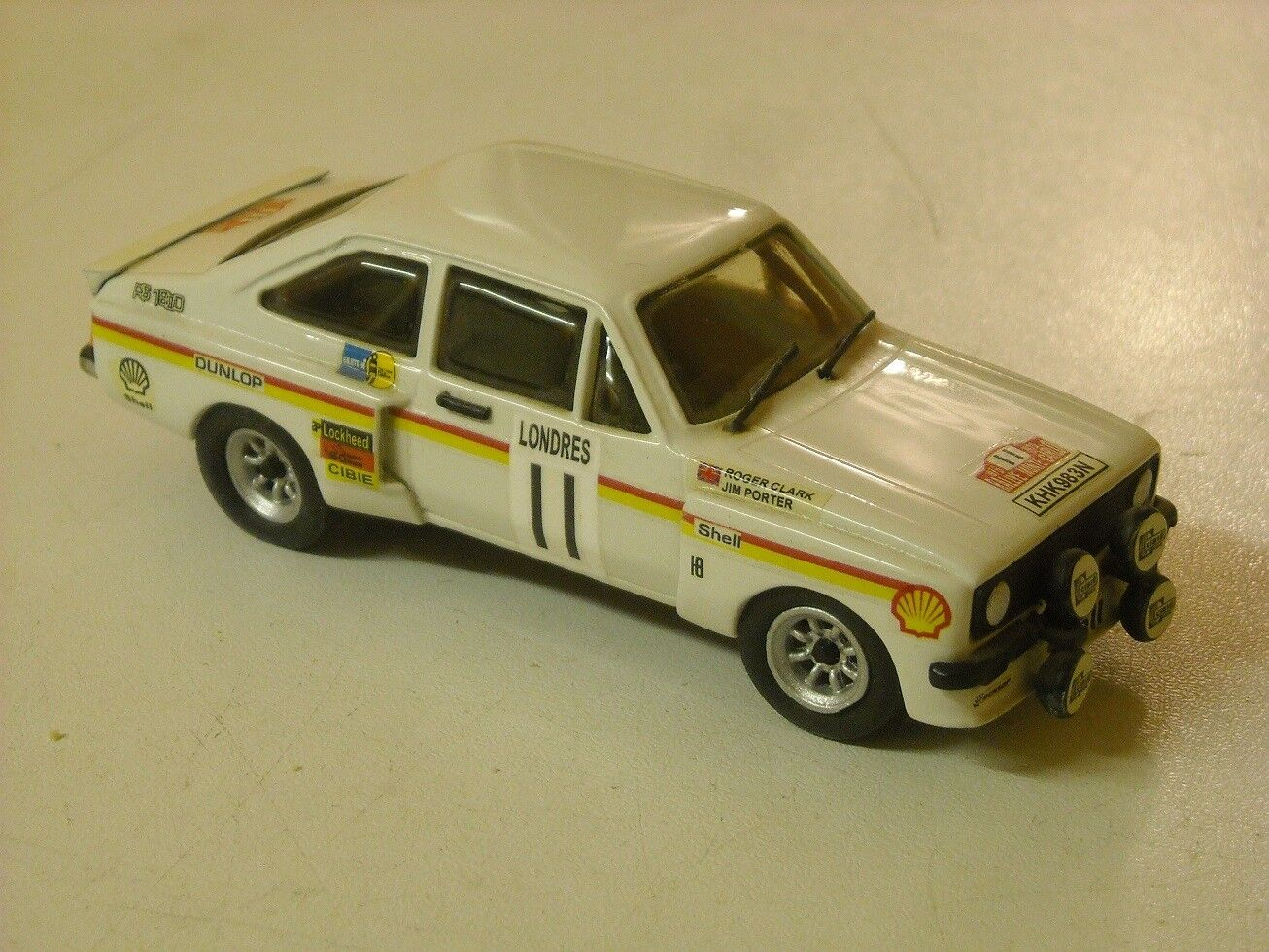 Ford Escort Mk2 Zakspeed Monte Carlo Rally 1976 Clarke built by K & R Replicas