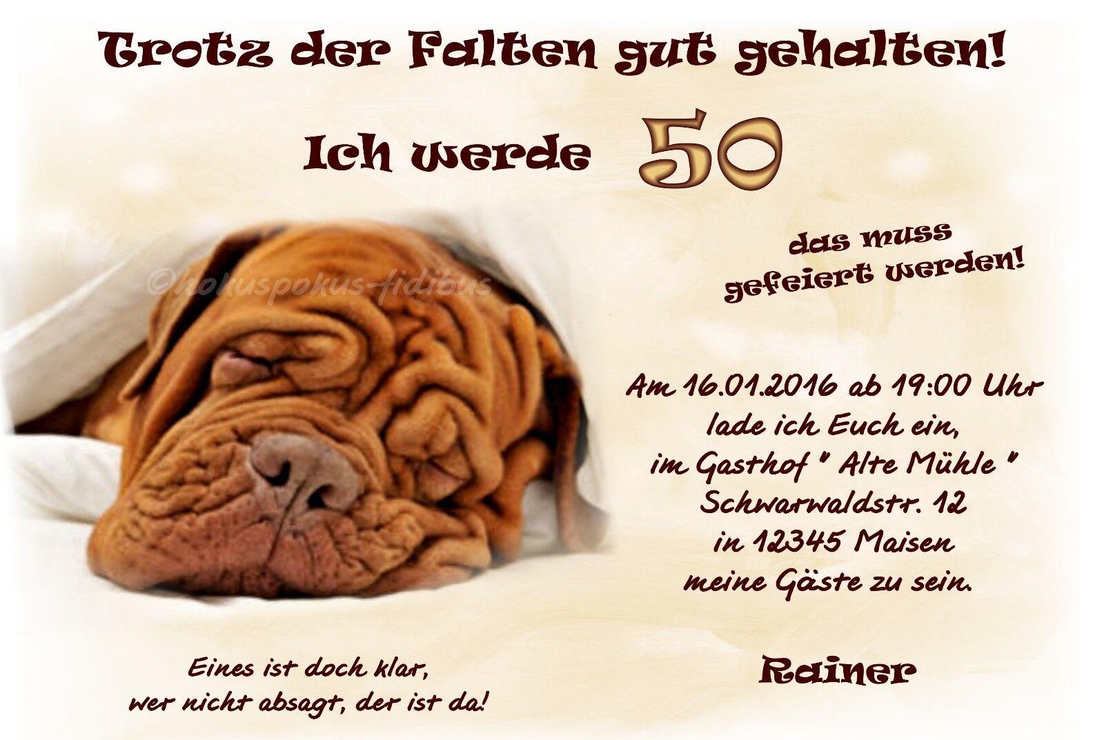 20 lustige Einladungskarten Geburtstag Einladungen JEDES ALTER 30 40 50 60 70     Haltbarkeit    Neuer Eintrag