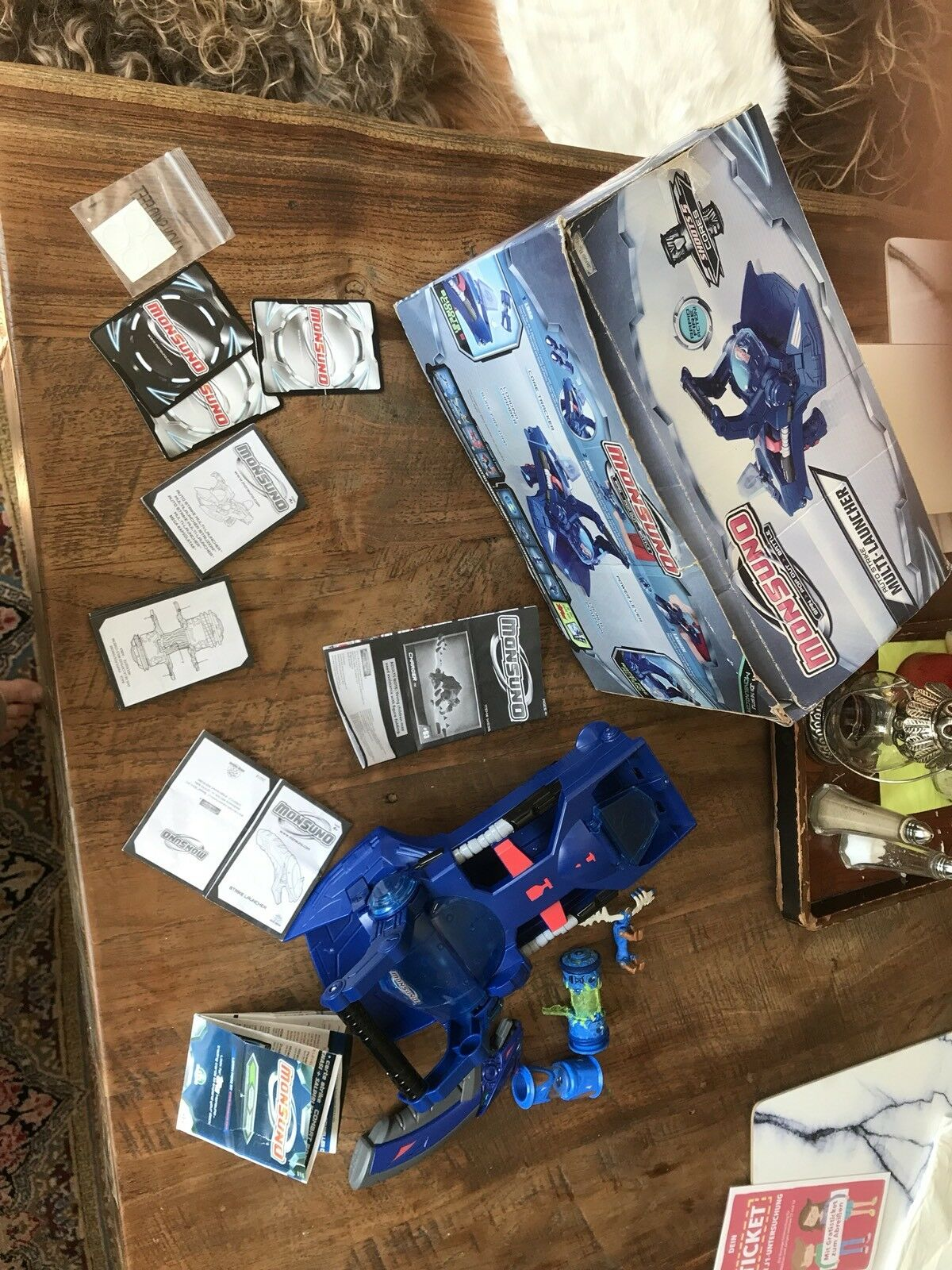 Kpl. Karten Paket Monsuno Strike Multi Launcher Nr.1 Karten Kpl. 2x Wild Core Figur 70268761 45c930