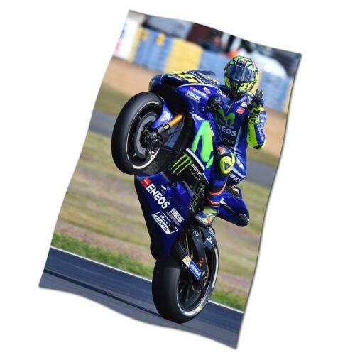 Valentino Rossi Flag Banner NEW Yamaha MotoGP Motor Race
