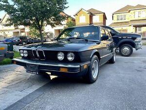 BMW 528e 1986