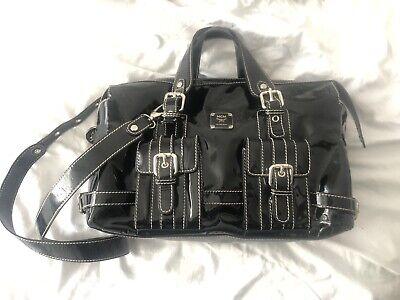MCM Designer Schwarz Lackleder Handtasche | eBay