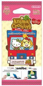 Animal Crossing Booster 6 Cartes NEW HORIZON Amiibo Sanrio | NEUF