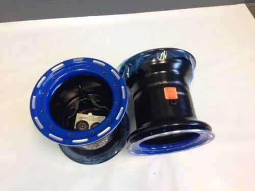 "DWT G3 Blue Rear Beadlock Wheels Rims 8/"" 8x8 3+5 4//110 Honda Suzuki 450R LTR450"