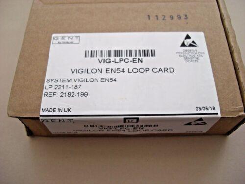 £ 168 Gent VIG-LPC-EN Vigilon EN54 Scheda Loop V 4.50