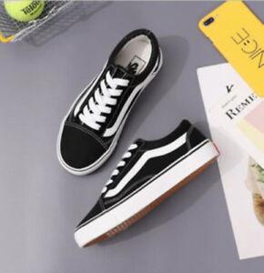 VAN-Classic-OLD-SKOOL-Low-Top-Suede-Casual-Canvas-sneakers-MENS-WOMENS-Shoes