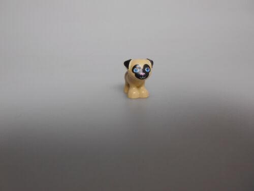 Lego® Friends Zubehör 1x Hund Mops Dexter  Neu