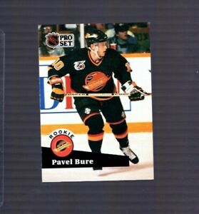 PAVEL-BURE-Rookie-Card-1991-92-Pro-Set-Series-2-564-VANCOUVER-CANUCKS-RC