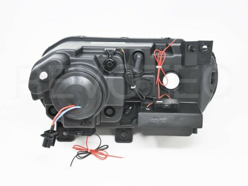 08-14 Dodge Challenger G2 Black Halo Projector Headlights For Halogen Type