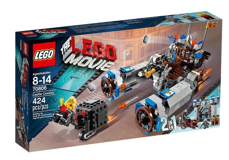 LEGO  ® THE LEGO MOVIE 70806 Castello CAVtuttiERIA NUOVO OVP _ Castle Cavalry nuovo MISB NRFB  nuova esclusiva di fascia alta