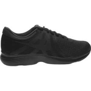 d8f1b940eb87 Men s Running Trainers Shoes Nike Revolution 4 Running All Black ...