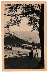 Ansichtskarte Wien - Blick vom Kahlenberg gegen Leopoldsberg - schwarz/weiß