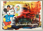(PRL) 1963 WALT DISNEY TOPOLINO MICKEY MOUSE CARTOLINA POSTCARD COLLECTION '63
