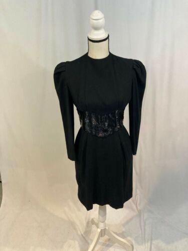 Carolina Herrera Black Dress