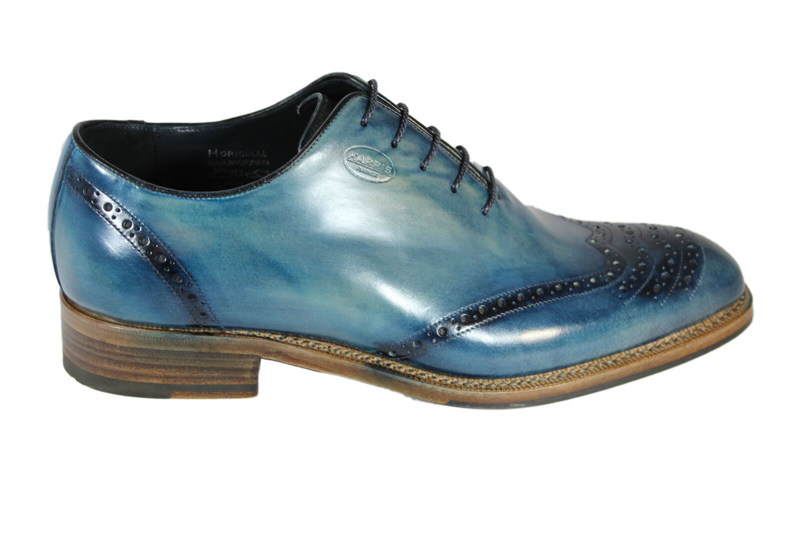 HARRIS leather A/I oxfords F/W 2016 stringata classica in pelle A/I leather 2016 e21bbe