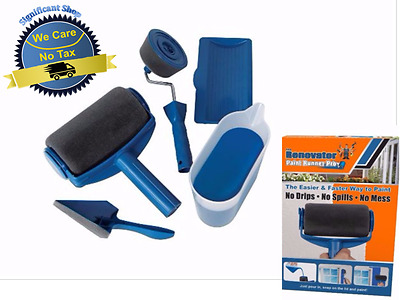 Paint Runner Pro Set Kit No Mess Brush Item As Seen Tv Wall Painting No Spill 606955777044 Ebay