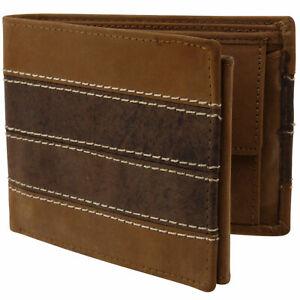 Oakridge-Distressed-Leather-Mens-Tri-Fold-Wallet-in-Brown-amp-Tan
