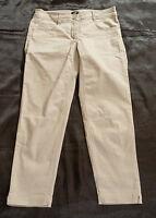 Damenhose,H&M,Gr. 38,beige,Mischgewebe