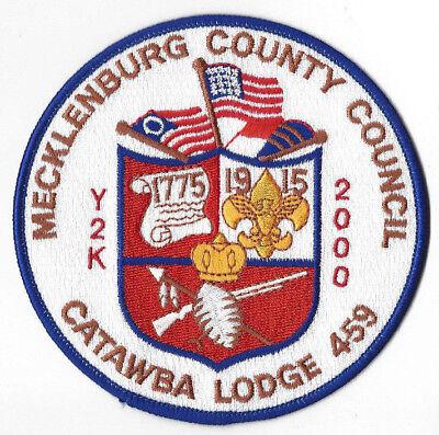 LMT1720 NC OA Lodge 459 Catawba Jacket P Mecklenburg County Charlotte