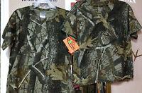 Youth Team Realtree Hardwoods Or Ap Hd Short-sleeve T-shirt Size Small & Medium