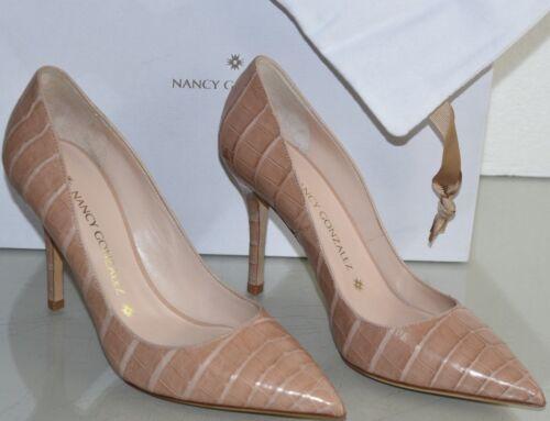 Crocodile 39 90 Chair Beige Chaussures Neuf Houx Gonzalez Alligator Nancy naq71Ywz