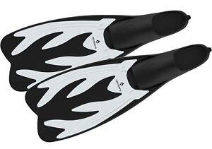 Tecno-Pro-Erwachsenen-Schwimmflosse-Flossen-F5-transparent-schwarz