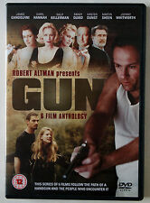 GUN / ROBERT ALTMAN / 6 FILM ANTHOLOGY / JAMES GANDOLFINI / 2 X DVD /  R 0  PAL
