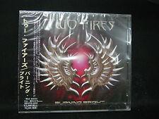 TWO FIRES Burning Bright + 1 JAPAN CD Kevin Chalfant Journey Survivor Bonrud