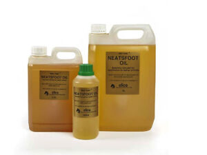 GOLD-LABEL-NEATSFOOT-OIL-5-Litres-2-5-litres-500ml-Rejuvenates-Leather-FREE-P-amp-P