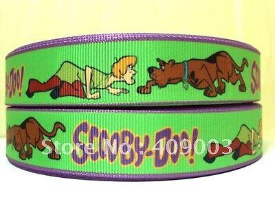 """Scooby Doo Cinta 1/"""" ancho nuevo vendedor Reino Unido Libre P/&P"""