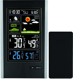 Radio Controlled Weather Station Indoor/outdoor Sensor Thinkgizmos Tg646 P