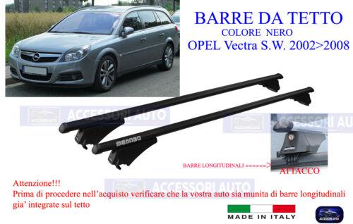 Portabagagli OPEL Vectra S.W Barre Portatutto Specifiche 02/>08 Portapacchi