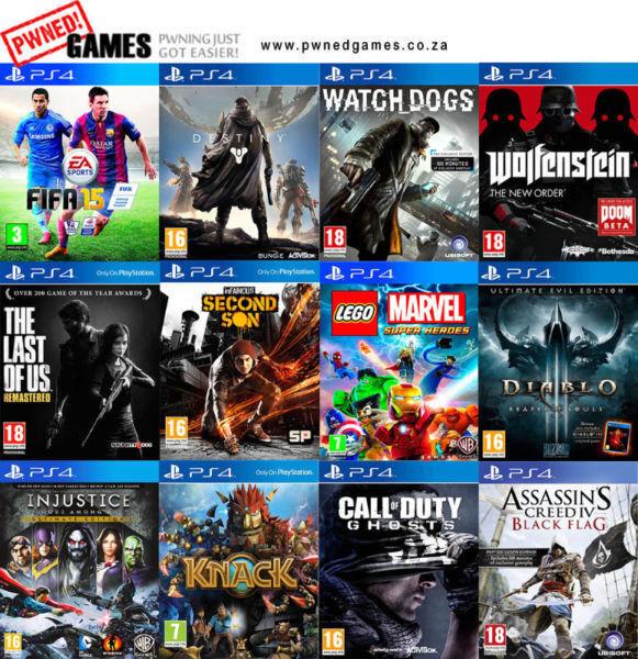PS4 Games [E] º°o Buy o°º Sell º°o Trade o°º