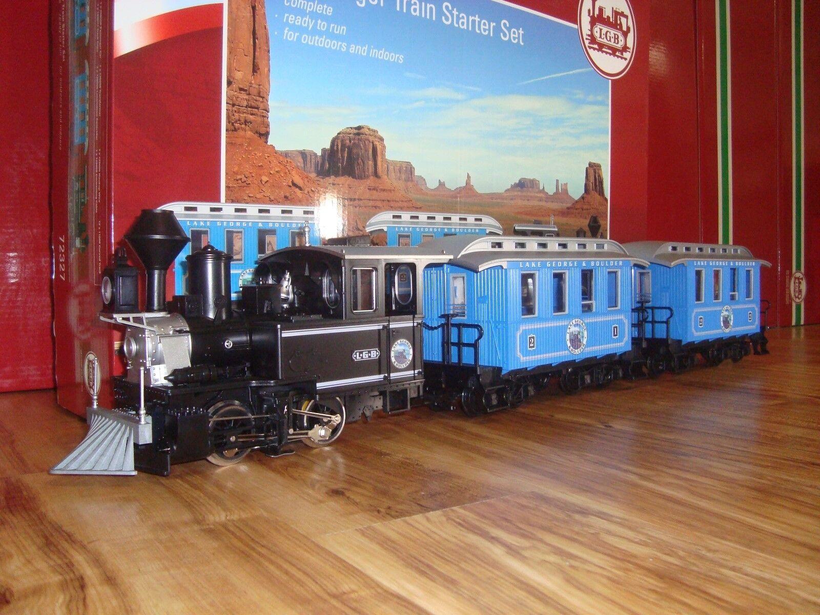 precios mas baratos LGB 72327 L.g. L.g. L.g. & B. vapor Tren de pasajeros Conjunto de 3 piezas no Track & Tansformer New  Mejor precio