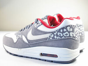 low priced 0a884 41819 Image is loading DS-NIKE-2012-AIR-MAX-1-LEOPARD-SAIL-