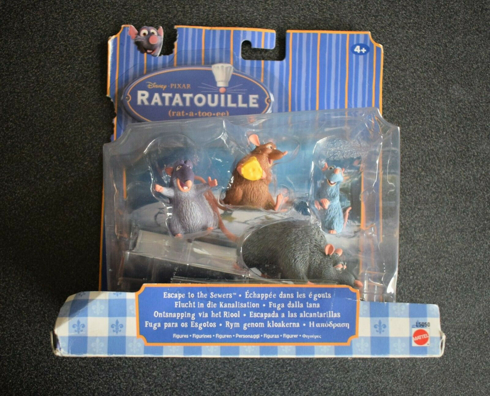 Ratatouille Movie Moment - Escape To The Sewers