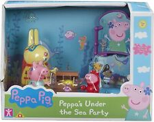 Peppa Pig Peppa's Under The Sea Party Set Figures & Accessories Toy Playset