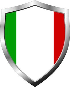 Italy-Flag-Shield-Decal-Sticker