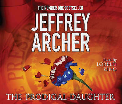 The Prodigal Daughter by Jeffrey Archer (CD-Audio, abridged, 2008) NEW UNSEALED