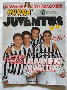 HURRA-039-JUVENTUS-N-12-1992-ANTONIO-CONTE-TORRICELLI-DINO-BAGGIO-NO-POSTER