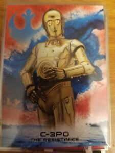 2018-Topps-Star-Wars-The-Last-Jedi-Series-2-C-3PO-The-Resistance-40-99