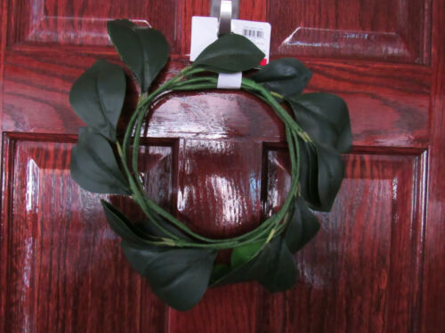 "Garland 72/"" Home Decor Faux Olive Branch Fig Magnolia Leaves 6ft Holiday Wreath"