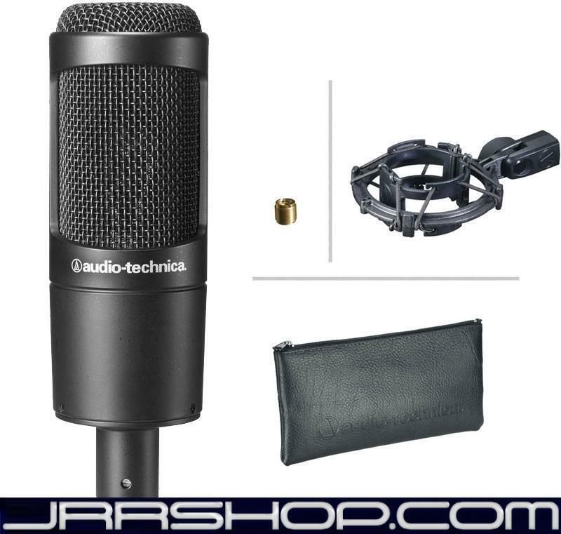 Audio Technica AT2035 Large Diaphragm Cardioid Condenser Mic JRR Shop